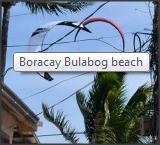 Boracay day 1 – Accomodation and storage for kitegear on the beach