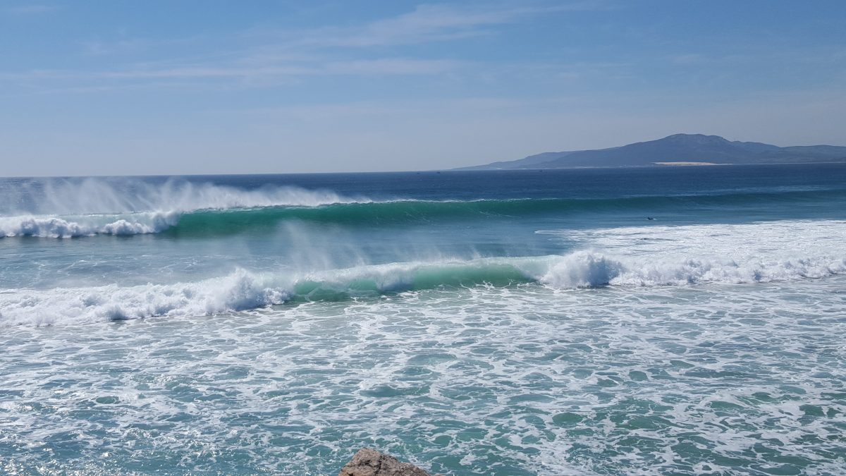 Surfing in tarifa - Waves