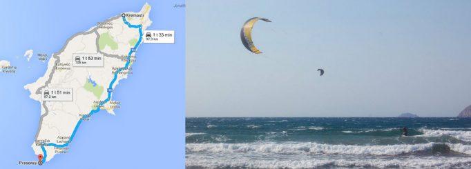 Kitesurfing in Rhodes, Greece – Our first kite trip!