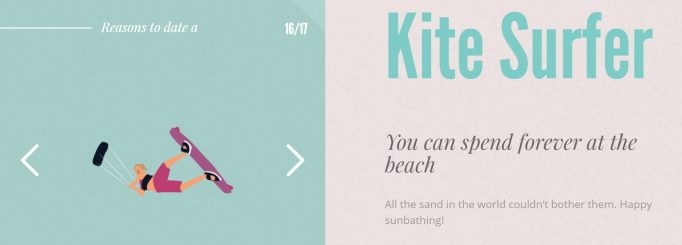Reasons to Date a Kite surfer