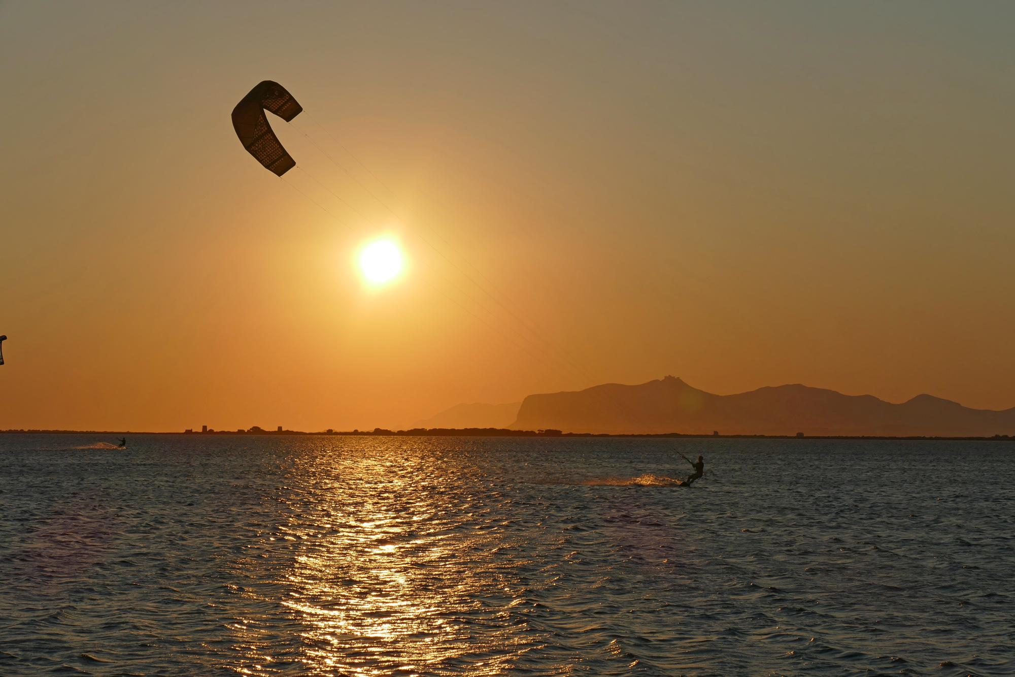 sicily kiteboarding