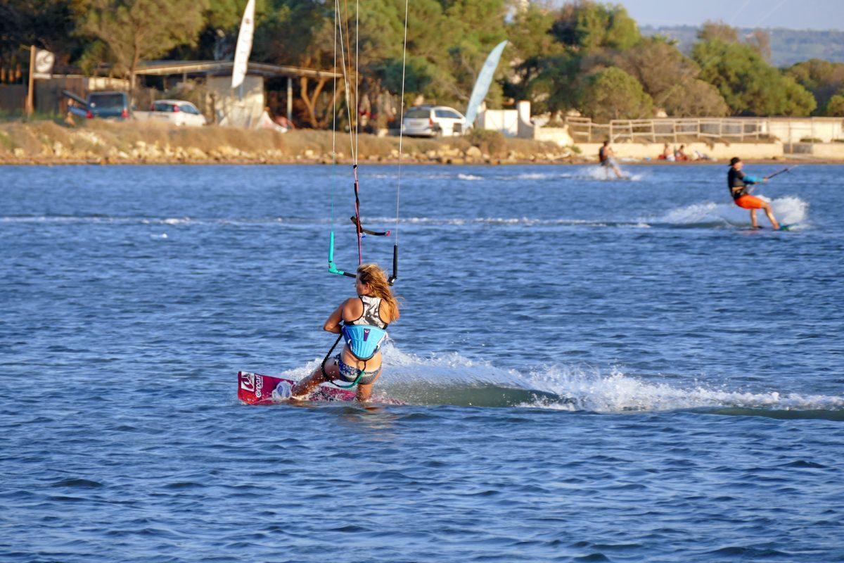 sicily kitesurfing