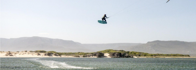 Kiting in the Overberg: The Other Side of Cape Town