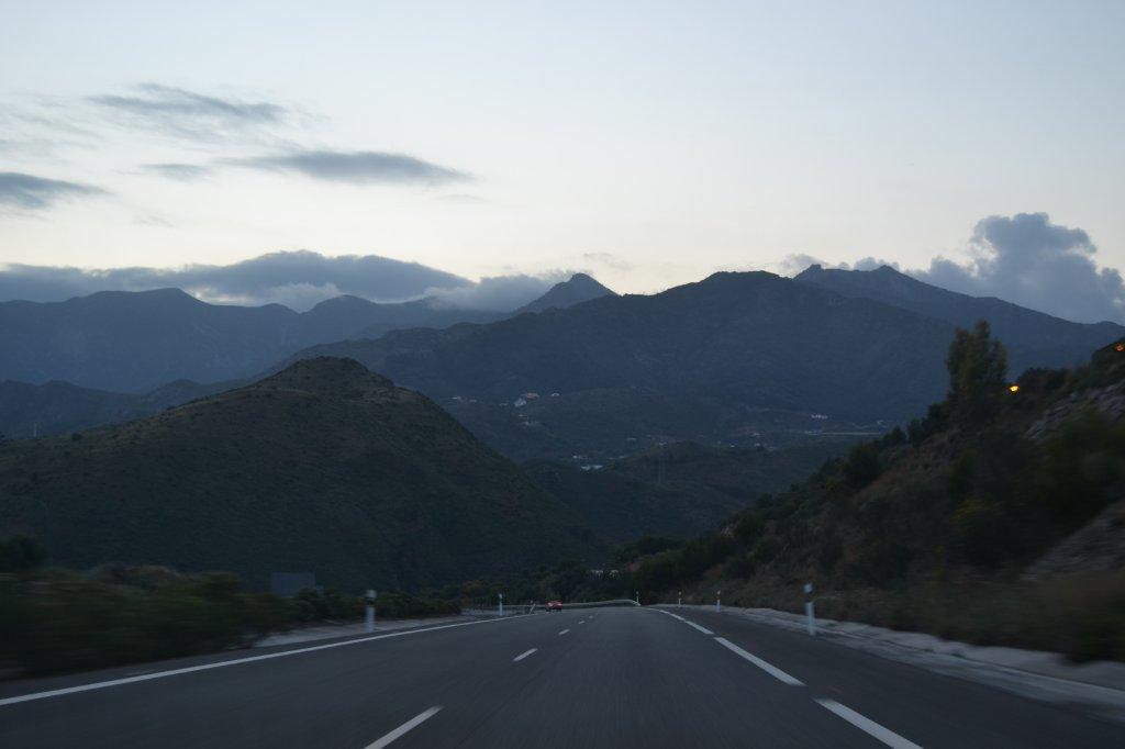 The road from Malaga to Tarifa