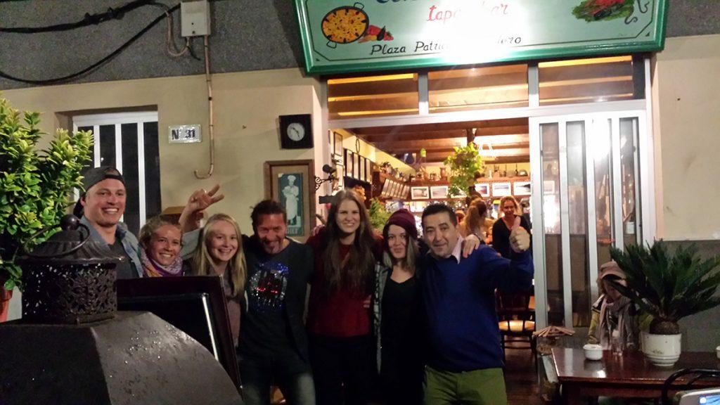 domingo Fuerte Ventura - Local tapas restaurant