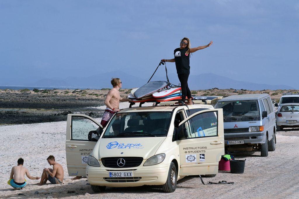 surf van at punta blanka