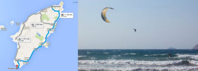 Kitesurfing in Rhodes, Greece – Our first kite trip!