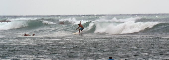 Surfing in Sri Lanka during off-season
