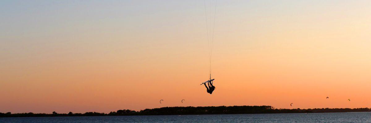 Kitesurfing in Stagnone, Sicily