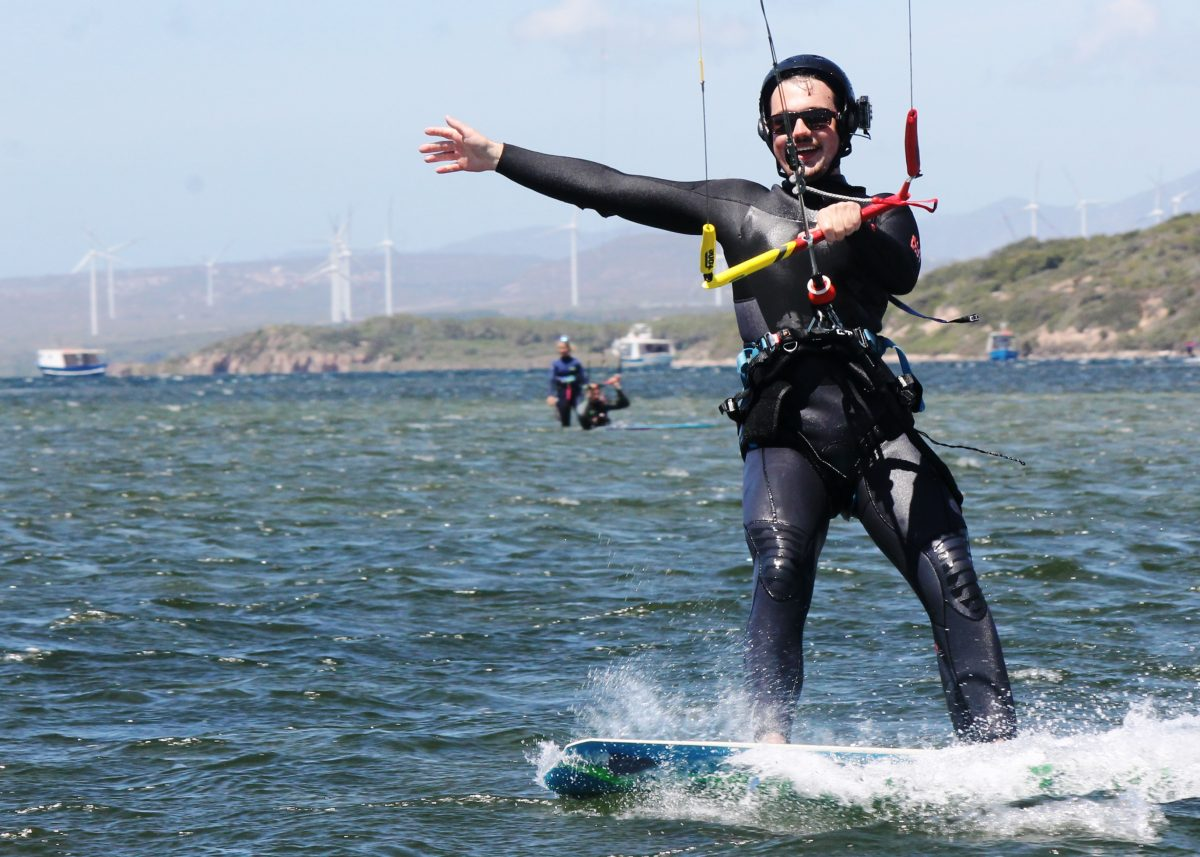Zero to Hero Beginner Kitesurfing Course in Punta Trettu Sardinia