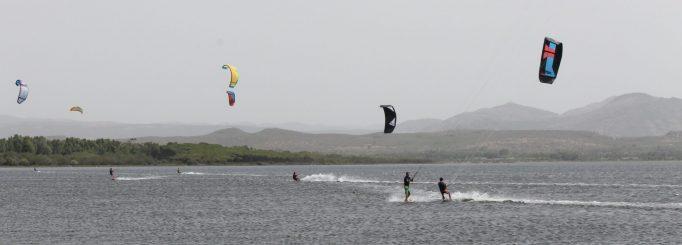 Kitesurfing in Southern Sardinia