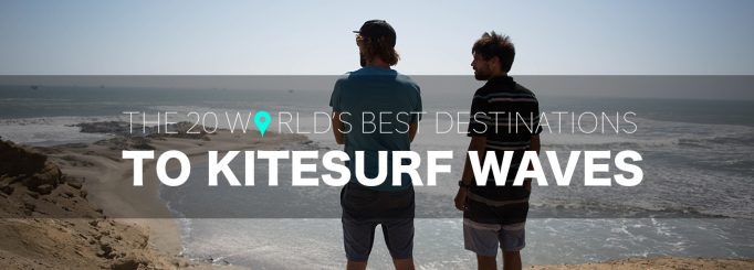 The most complete kitesurfing wave riding spot guide (until now)