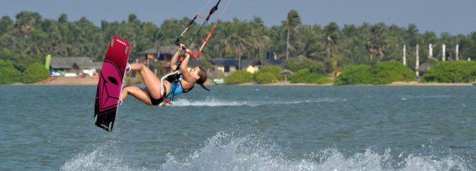 Kitesurfing camps, kite schools & kite spots in Sri Lanka.